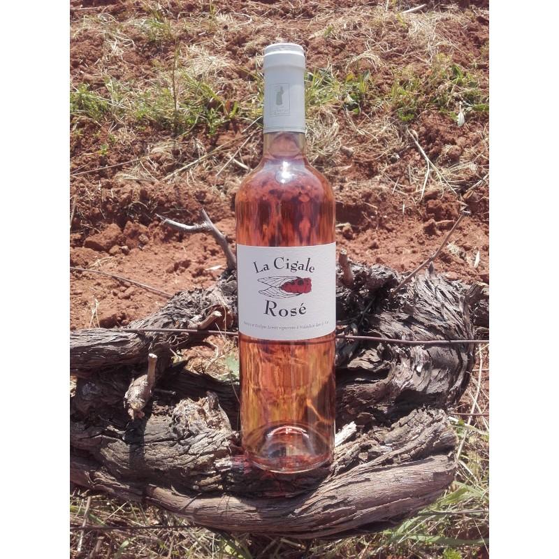 """Rosé, """"La Cigale"""", Domaine des Rouges"""